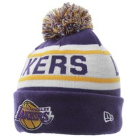 Mens Los Angeles Lakers New Era Purple Biggest Fan Redux Beanie