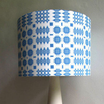 Peris & Corr ? Welsh Blanket Print Lampshade