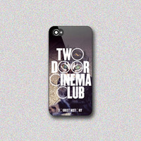 Two Door Cinema Club - Print on Hard Cover for iPhone 4/4s, iPhone 5/5s, iPhone 5c - Choose the option in right side