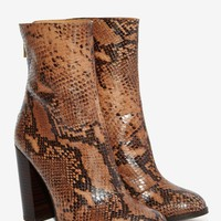 Intentionally Blank Vetus Leather Boot - Python