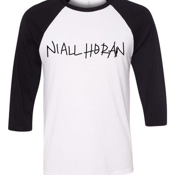 Niall Horan Handwriting / This Town Baseball Tee