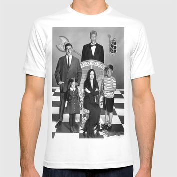ADDAMS FAMILY c. 1964 T-shirt by Kathead Tarot/David Rivera