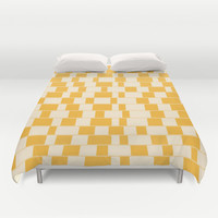 Illusion Blocks Duvet Cover by ChunkyDesign