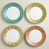 Shanghai Plates, Set of 4