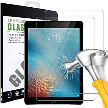 iPad 2 3 4 Screen Protector, iPad 2nd 3rd 4th Gen Generation Glass Screen Protector, 2 Pack AndHot HD Clear Tempered Glass Screen Protector Film for Apple iPad 2 iPad 3 iPad 4 (Oldest Models)