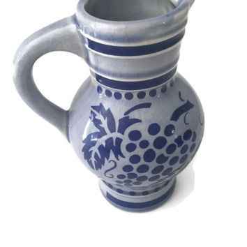 West German Ceramic Pitcher KWU Dehme Western Germany
