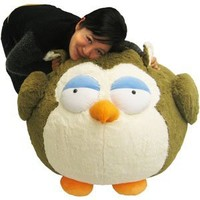 "Owl - 24"" Massive Squishable: Toys & Games"