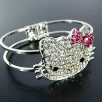 Hello Kitty Crystal Bracelet