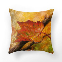 #redleaf #pillowcase #pillow #homedecor