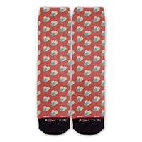 Function - Valentine's Day Pastel Heart Pattern Fashion Socks