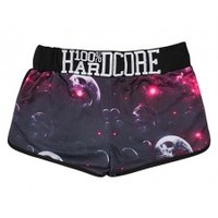 100% Hardcore ladies hot pants bubbles pink