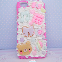 kawaii and delicious decoden case for Iphone 5c