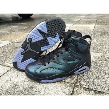 Air Jordan Retro 6 Chameleon Men Basketball Shoes 6s Chameleon Sports Sneakers With Shoes Box