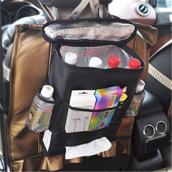 Universal Car Seat Back Storage Bag/Multi-Pocket Organizer
