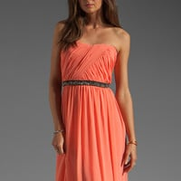 ERIN erin fetherston Skyscraper Gown in Fusion Coral from REVOLVEclothing.com