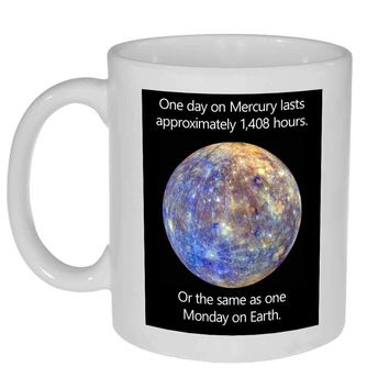 Mercury and Mondays Coffee or Tea Mug