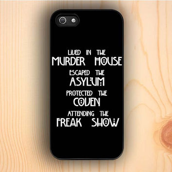 Dream colorful American Horror Story Four Seasons iPhone 5 Case
