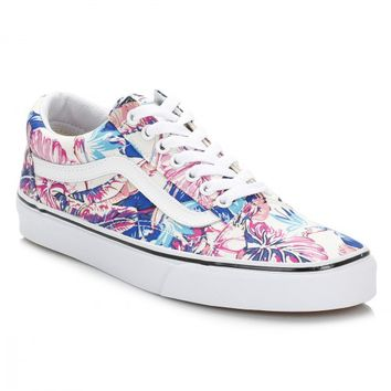 Vans Tropical Old Skool Canvas Trainers