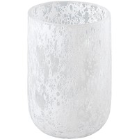 Tibor Round Glass Bathroom Toothbrush Holder Standing Toothpaste Tumbler