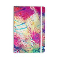 "Liz Perez ""RAINBOW"" Purple Multicolor Everything Notebook"