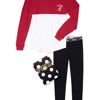 University of Alabama Pocket Varsity Crew and Leggings Gift Set