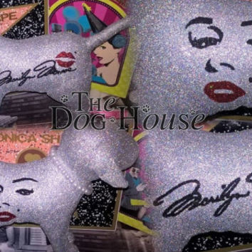 INSTOCK GIANT Marilyn Monroe Pearls Victoria Secret Customized Puppy Dog