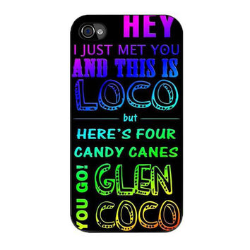 glen coco mean girls inspired poster rainbow iPhone 4 4s 5 5s 5c 6 6s plus cases