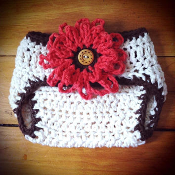 Crochet Pattern for Unisex Baby Bum Diaper Cover -  newborn and 0-6 mos - Welcome to sell finished items
