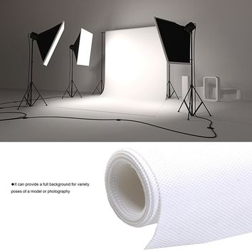 1.8*2.7M Professional Photo Lighting Studio Chromakey White Photo Backgrounds Screen Muslin Background Backdrop Non-woven Fabric