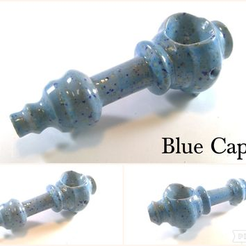 Ceramic Pipe #ASL021 Color: Blue Caprice