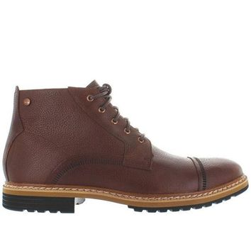 ESBONIG Timberland Earthkeepers West Haven Cap Toe - Waterproof Dark Brown Leather Chukka Boot