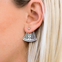 Wish Earrings (Silver) - MINC COLLECTIONS