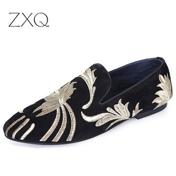 Italian Fashion Men's Shoes Leather Loafers Men Casual Flats Shoes Man Loafers Male Moccasins Free Shipping Size 38-43