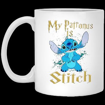 MY PATRONUS IS STITCH 11 oz Mug