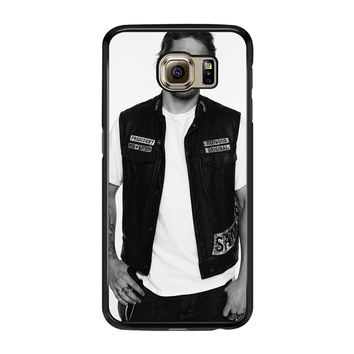 Soa Sons Of Anarchy Jax Teller Samsung Galaxy S6 Edge Case