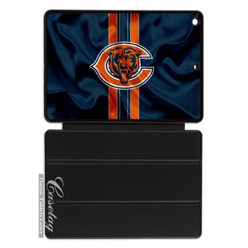 Chicago Bears Football Flag Cover Case For Apple iPad 2 3 4 Mini Air 1 Pro 9.7 10.5 12.9 New 2017 a1822