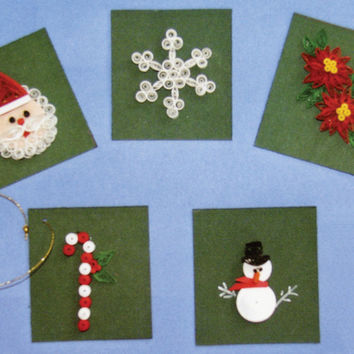 quilling kit - christmas cards & tags