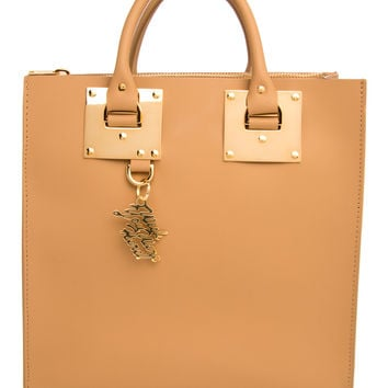 Sophie Hulme Camel Albion Square Tote