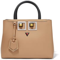 Fendi - 2Jours Petite embellished leather shopper