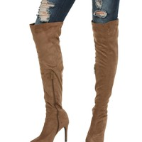Tan Big City Girl Boots