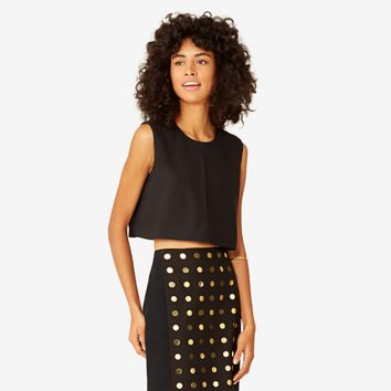 Kate Spade Saturday Split Crop Top