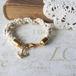 KNOTTY v2 nautical rope bracelet with anchor charm by brideblu