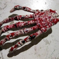 Bloody Skeleton Hands Hair Fascinator/Barrette