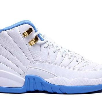2017 Air Jordan 12 AJ12 Basketball Shoes Best BASKET Down PU Patent Leather Leather Mesh Sneaker