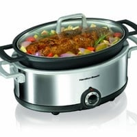 Hamilton Beach Premiere Cookware 5-1/2-Quart Slow Cooker