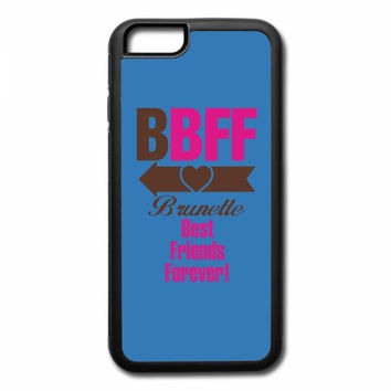 brunette best friends forever left arrow iPhone 7 Plus Case