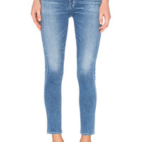 Citizens of Humanity Carlie High Rise Crop Skinny in Pacifica