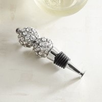 Jeweled Balls Bottle Stopper