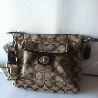 "COACH CROSSBODY HANDBAG F45026 ""NWT"" RETAIL 148.00"