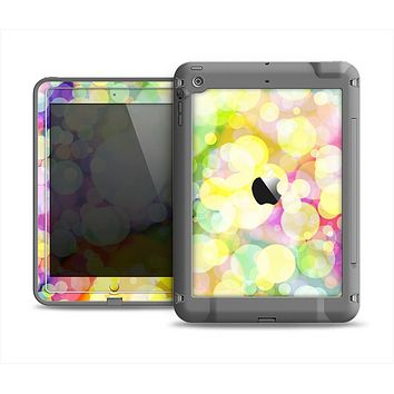 The Glistening Colorful Unfocused Circle Space Apple iPad Mini LifeProof Fre Case Skin Set